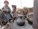 Ladakh, Jangthang, nella tenda di nomadi profughi tibetani